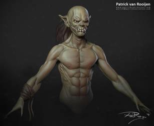Goblin Zbrush sketch by PatrickvanR