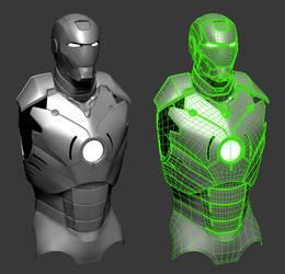 Iron Man (WIP) by PatrickvanR