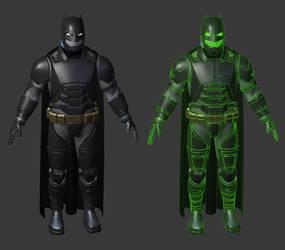 Batman v Superman - Armored Suit by PatrickvanR
