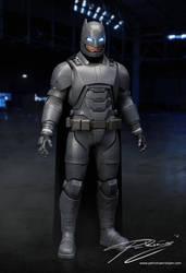 Batman (Batman v Superman - Armored version) by PatrickvanR