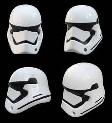 Star Wars - The Force Awakens Stormtrooper Helmet by PatrickvanR