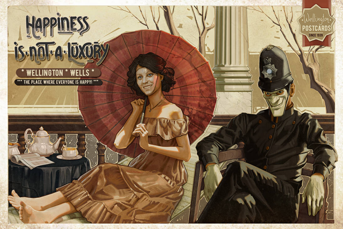 We Happy Few Postcard Contest by Zegalur