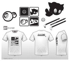 deviantART T-Shirt Design by Metros2soul