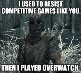Skyrim Meme - Resist Games by AinzOoalGown147