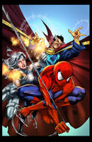 Avenging Spider-man cover - Colors by nahp75