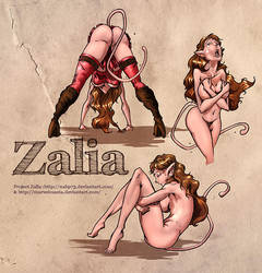 Zalia - Colors study by nahp75