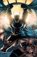 Batman colors by nahp75