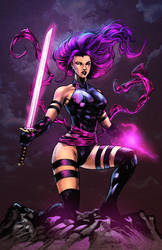 Psylocke Colors by nahp75