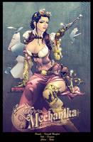 Lady Mechanika colors by nahp75