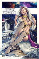 Slave Leia Colors by nahp75