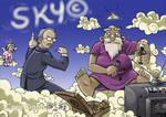 Copyright in the Sky by joriavlis