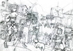Casus Belli: Lineart by joriavlis