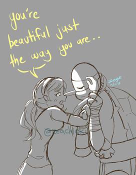 You're beautiful. by ZeaChiaki
