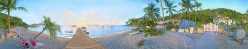 Manchaniel Bay, BVI by PhotoLogic