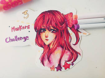 3 MARKERS CHALLENGE by Shurelly
