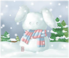 Snowbunny by Laiyee