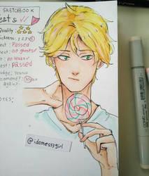 Sketchhook Test by Idamessygirl