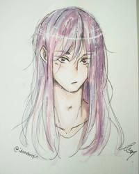Watercolor Sketchbook Test by Idamessygirl