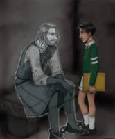 Soren and the Baron by JosieCarioca