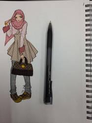 Fashion Sketch by finieramos