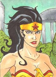 Wonder Woman Sketch Card 2 by DCU-Club