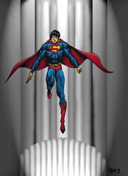 Man of Steel by FAH3 by DCU-Club