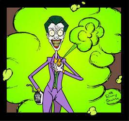 Joker says Smile by DCU-Club