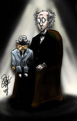 Ventriloquist and Scarface by DCU-Club