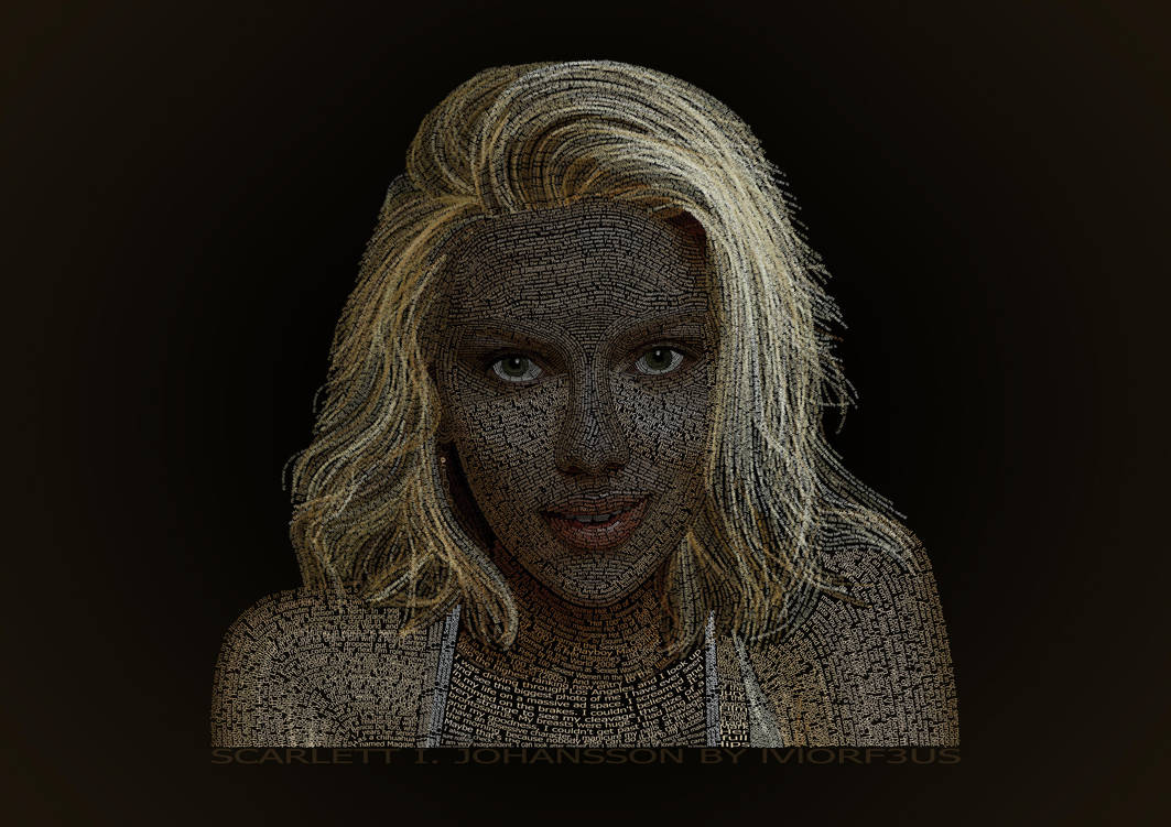 Scarlett I. Johansson by lVlorf3us