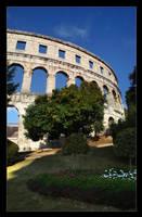 Pula Amfiteater by lVlorf3us