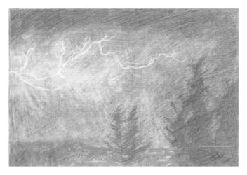 Electric Storm by Khima-Inez