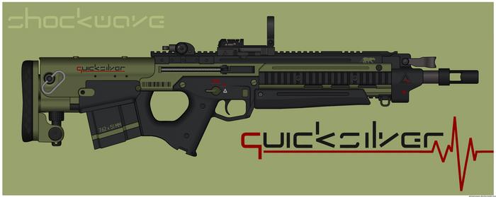 Quicksilver Industries: 'Scimitar' DMR/BR by Shockwave9001