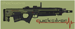 Quicksilver Industries: 'Scimitar' DMR/BR by Shockwave9001