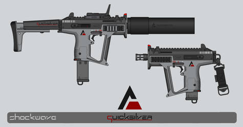 Quicksilver Industries: 'Markhor' SMG by Shockwave9001