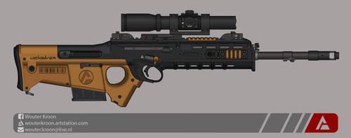 Quicksilver Industries: 'Wildebeest' DMR by Shockwave9001