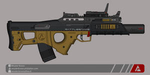 Quicksilver Industries: 'Rattlesnake' AR by Shockwave9001