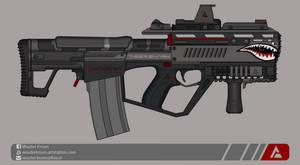 Quicksilver Industries: 'Tigershark' Auto Shotgun by Shockwave9001