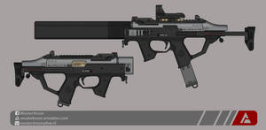 Quicksilver Industries: 'Suricate' SMG by Shockwave9001