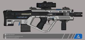 Quicksilver Industries: 'Silverback' ABR by Shockwave9001