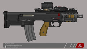 Quicksilver Industries: 'Monitor' PDW by Shockwave9001