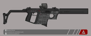 Quicksilver Industries: 'Thrasher' SMG by Shockwave9001