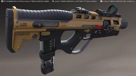 QSI 'Margay' 3D Model by Shockwave9001