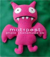 My handmade Ugly Doll by MotyPest