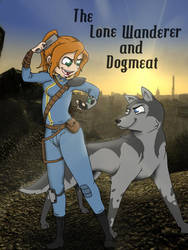 A Girl and her Dogmeat by MiRandom21