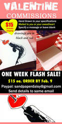 Valentine-commissions sandpaperdaisy (1) by sandpaperdaisy