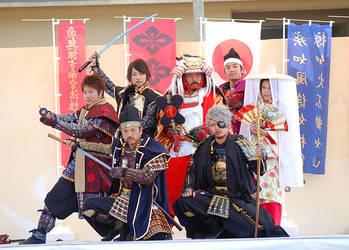 Takeda Troops by YURAN-snow