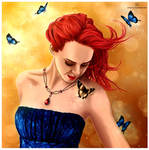 The Queen Of Butterflies by stvn-h