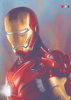 Color Meme: Iron Man by stvn-h