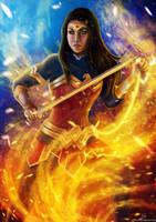 Wonder Woman by stvn-h
