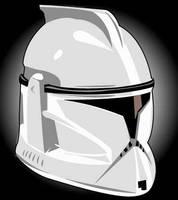 Star Wars Clone Trooper by AlienHeadBoy